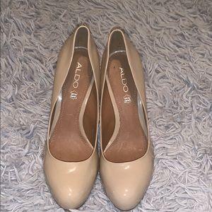 Aldo Patent leather heel